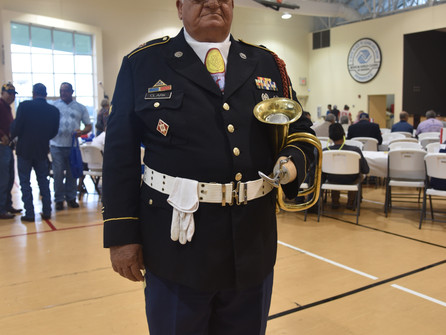 More than 250 attend Veterans Luncheon
