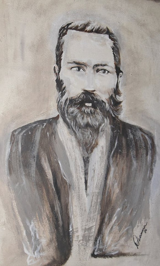 Beautiful artist rendition of Henry Berry Lowrie