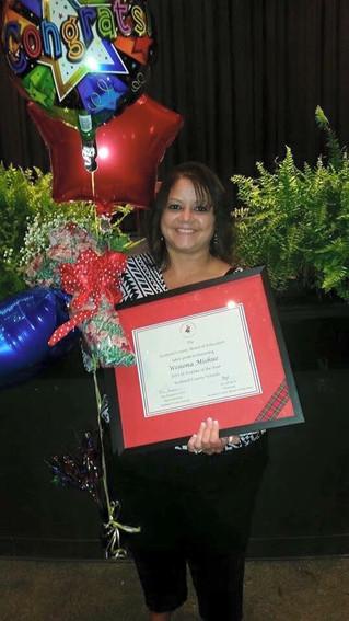 Pembroke Native Named Scotland County Teacher of the Year