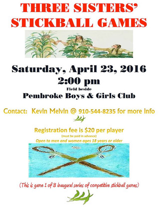 Three Sisters' Stickball Games
