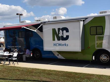 NCWorks Mobile Unit and FEMA