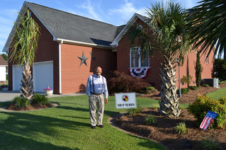 Yard of the Month for the Lumbee Tribe's Cheraw Acres