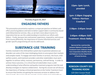 Engaging Fathers/Substance-Use Training