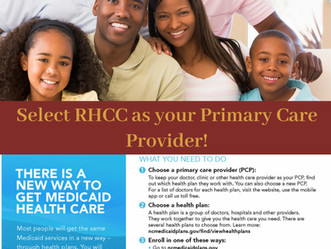 Make sure to select RHCC your Primary Care Provider