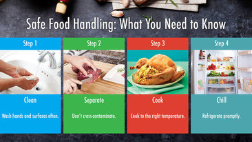 Safe Food Handing Instructions
