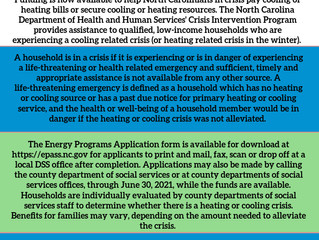 Funding Available to Help with Energy Bills