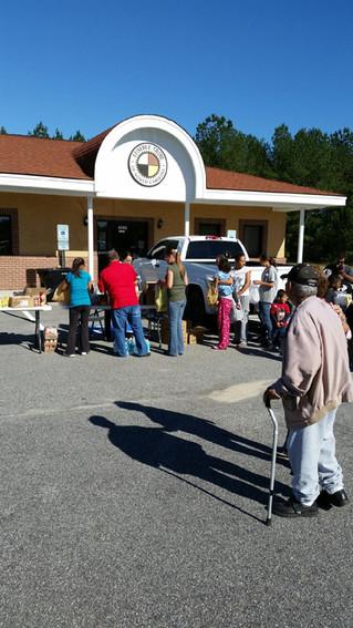 The Lumbee Tribe Hurricane Response Headquarters
