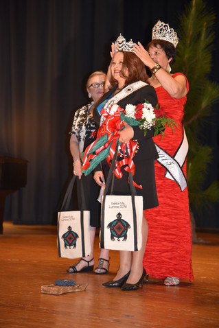 2016 Senior Ms. Lumbee Wanda Locklear-McCall