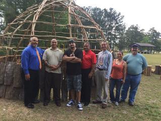 Wonderful Volunteers at Lumbee Tribe Cultural Center