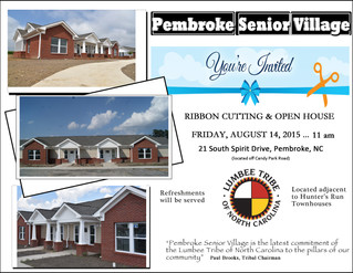 Ribbon Cutting Ceremony at Pembroke Senior Village-August 14, 2015