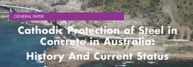 Cathodic Protection of Steel in Concrete in Australia: History And Current Status