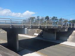 The Electrochemical Desalination of a Coastal Road Bridge