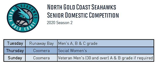 2020 Season 2 Senior Domestic Competitio