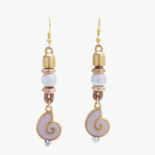 Boucles d'oreille Conque