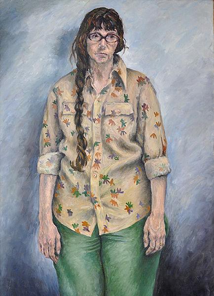 Portrait painting of Judith
