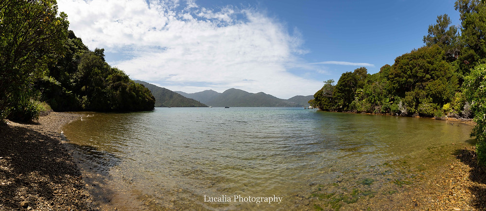 secluded bay, Wairarapa photographer
