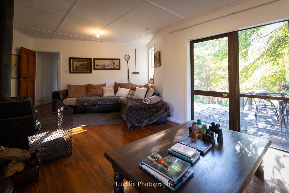 lounge area High Peaks Farm Stay, Mangamahu, Manawatu-Wanganui, New Zealand