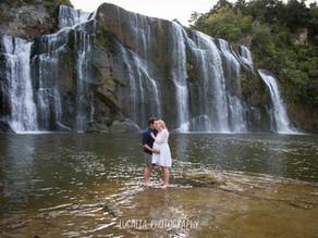 Waihi Falls Maternity Photos, Tararua