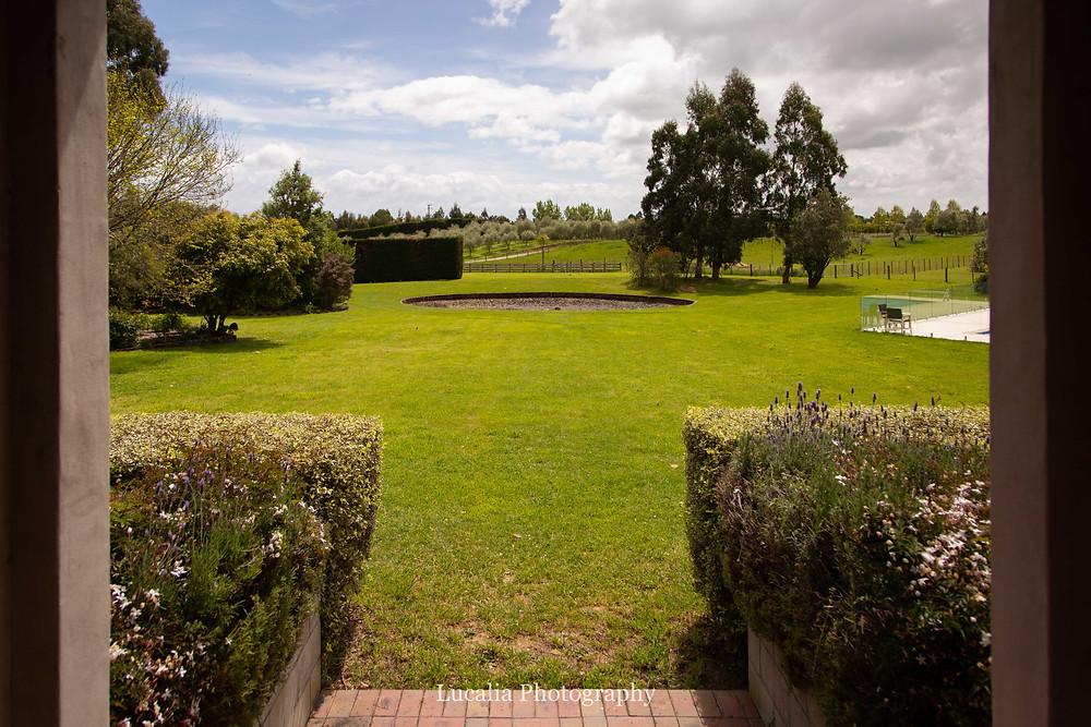 Expansive lawns and garden at Summer Lodge wedding venue Martinborough, Wairarapa