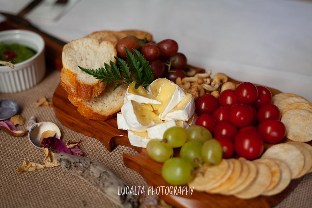 vegan wedding catering, Castlepoint Wairarapa wedding, Lucalia Photography