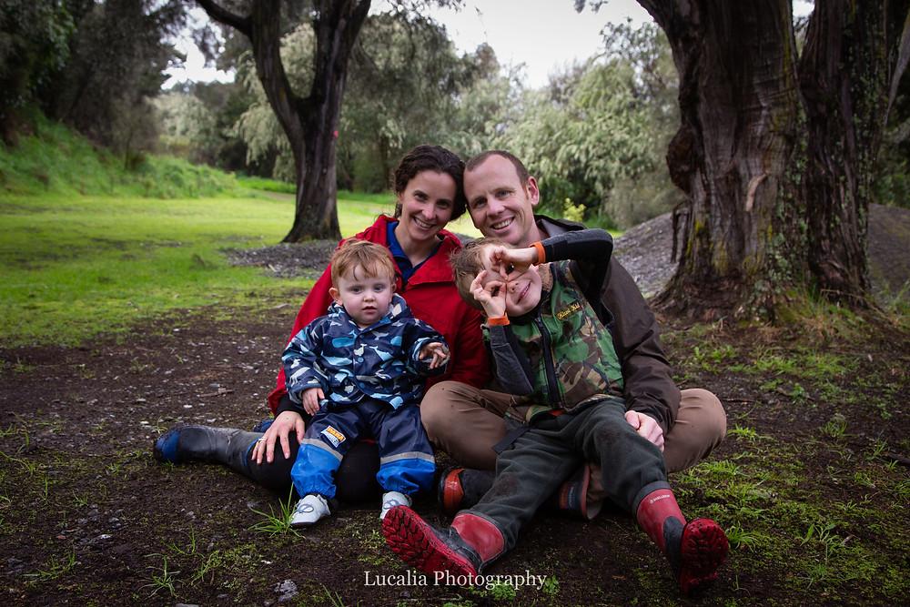 typical family portrait, Wairarapa family photographer