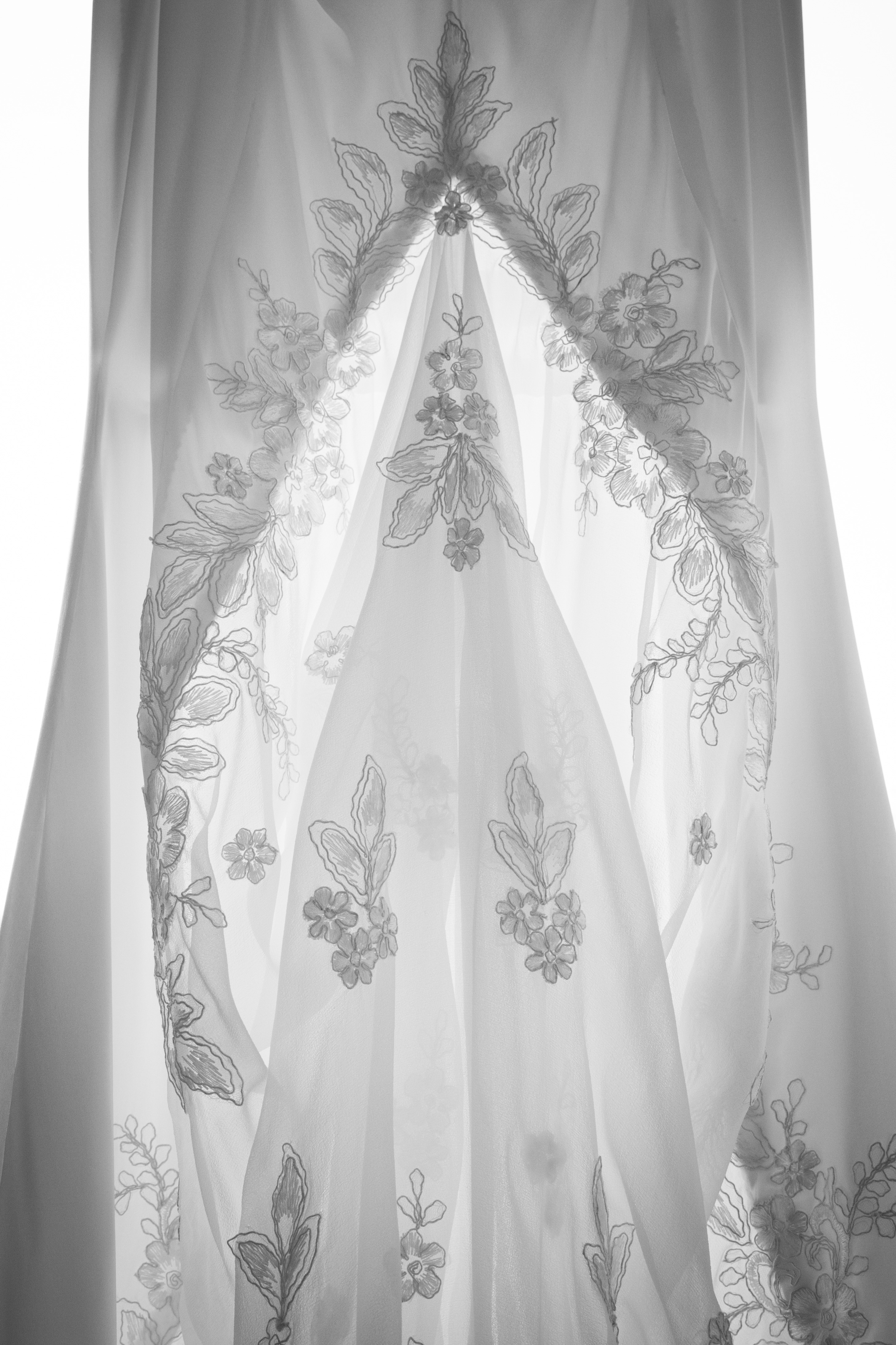 wedding dress detail central coast