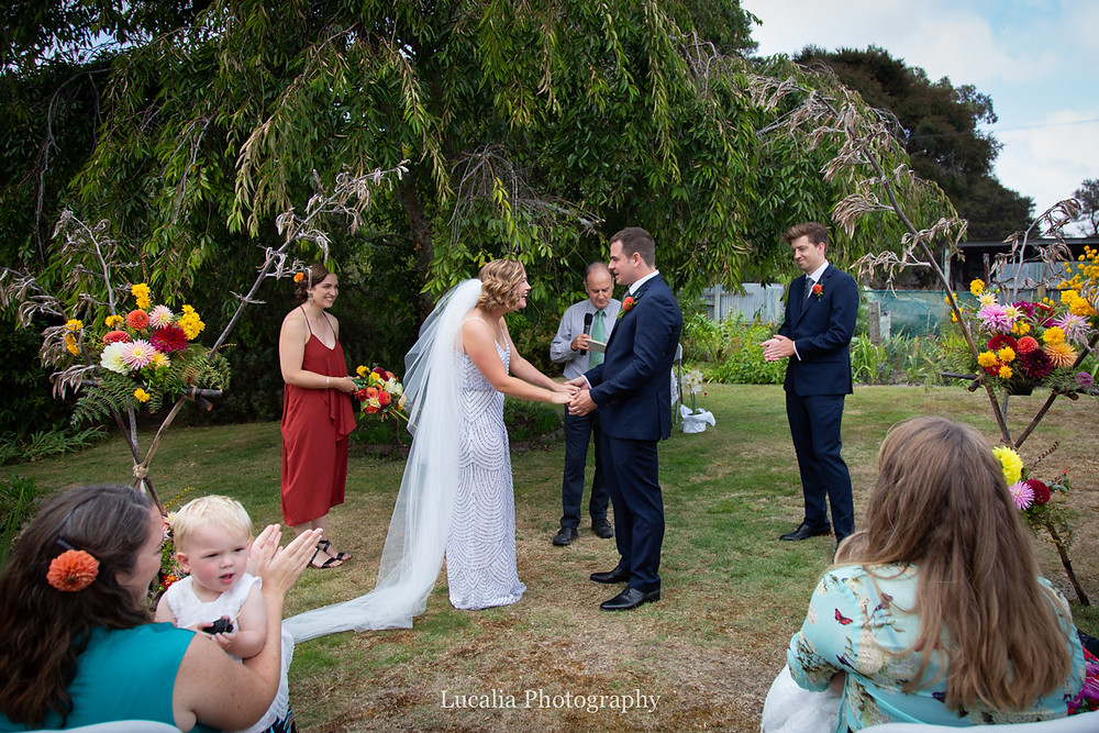 wairarapa wedding ceremony, Wairarapa wedding photographers