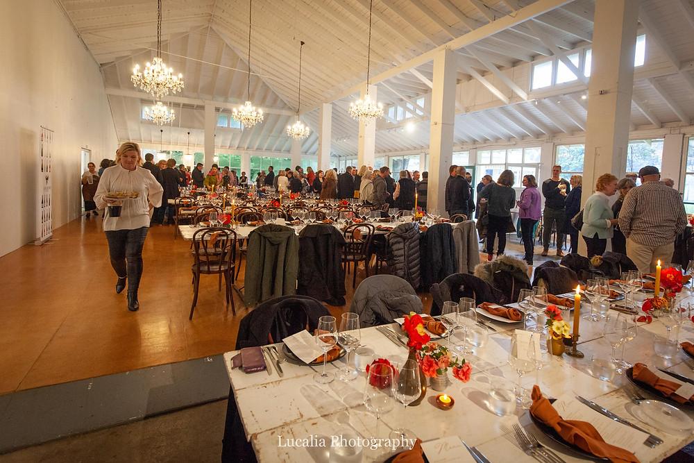 People inside Rose & Smith at Tauherenikau Wairarapa wedding venue