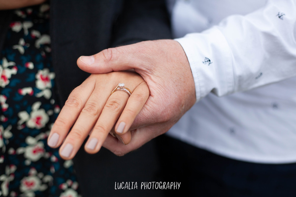engagement ring, engagement photos, Lucalia Photography Wairarapa wedding photographer