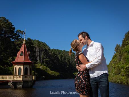 Zealandia pre-wedding photography: Helena and Jordan's engagement, Wellington