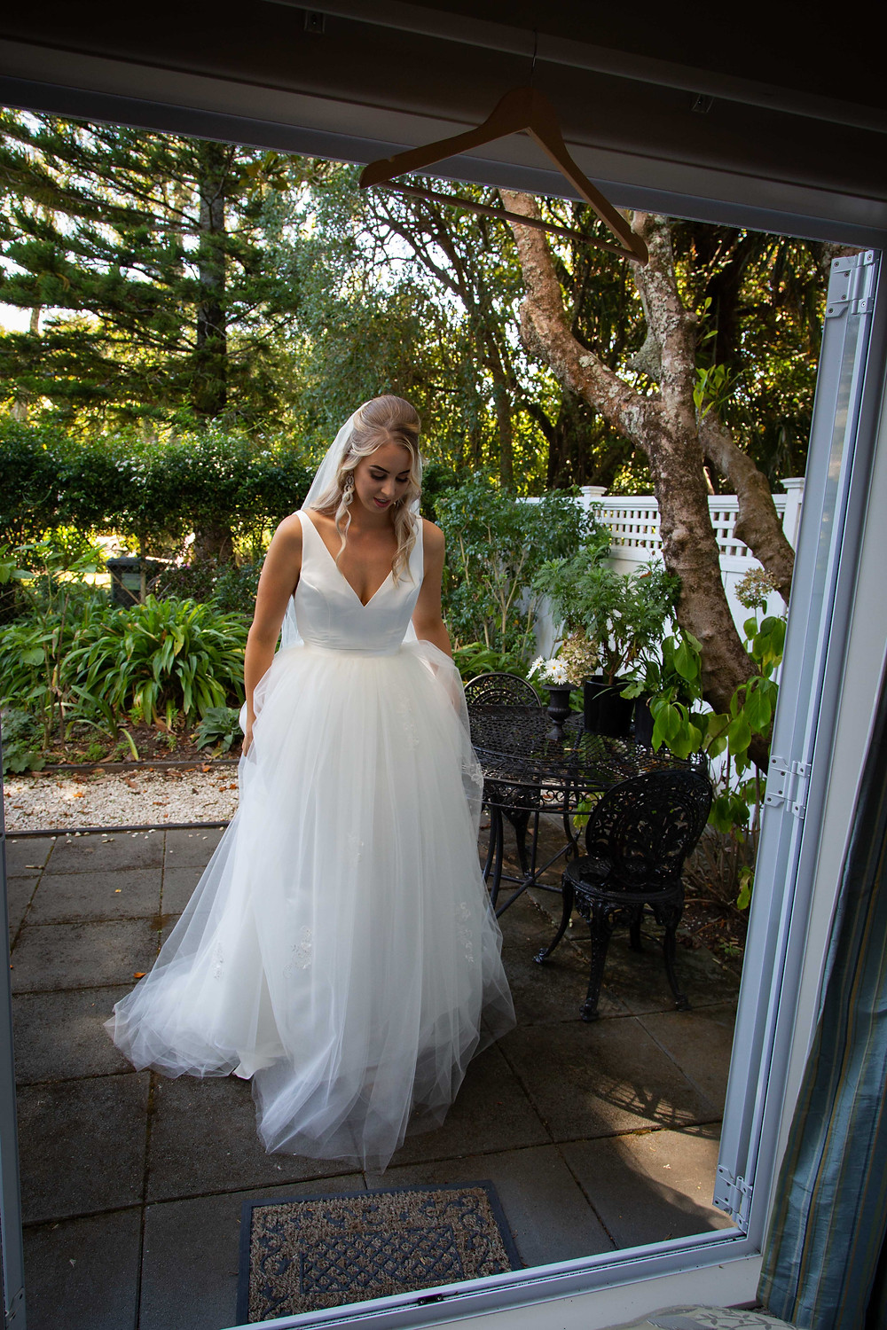 Two Doves Bridal custom made wedding dress, Palmerston North