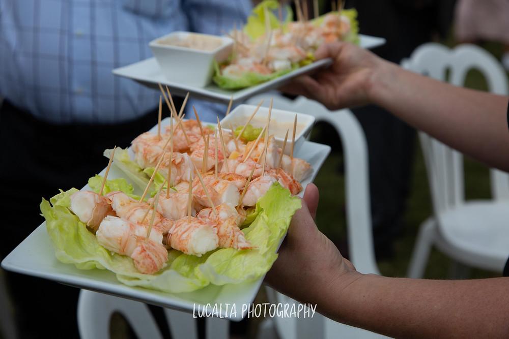 lobster crayfish Waimeha Bar and Grill wedding venue, Ngawi, Wairarapa wedding