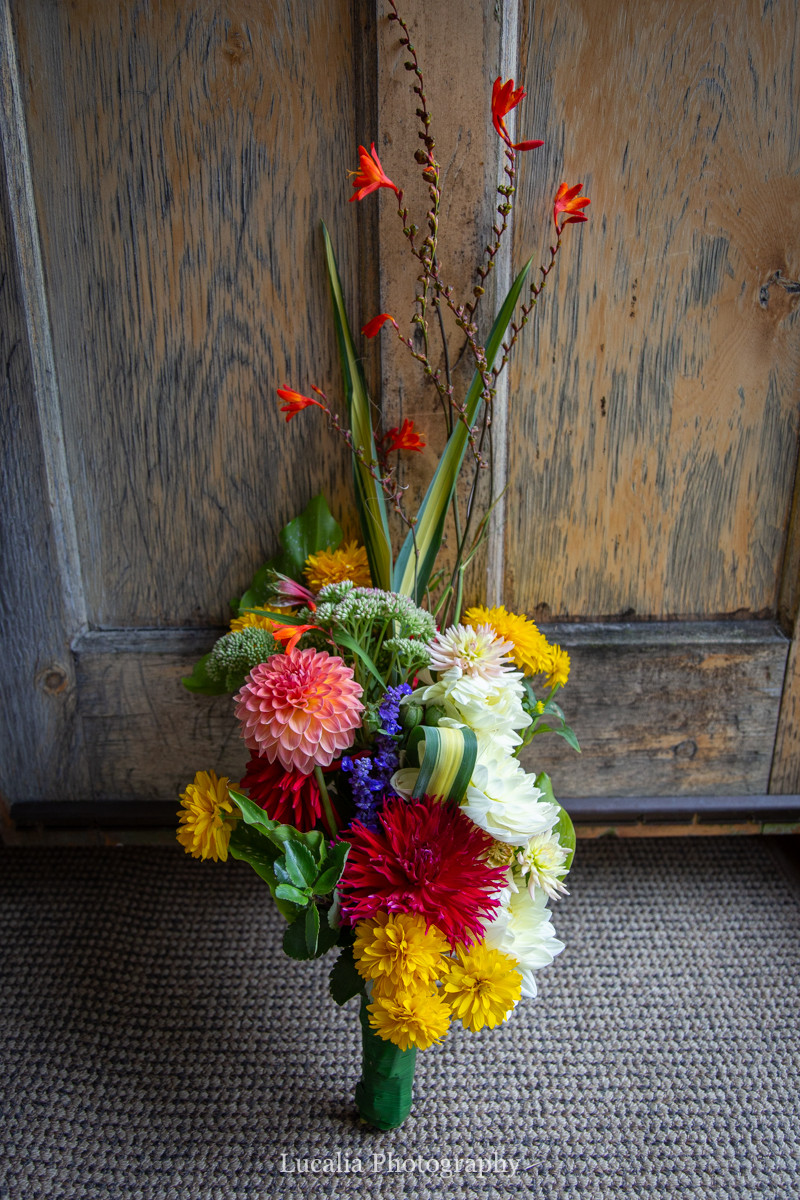 bright wedding bouquet, Martinborough, Wairarapa wedding photographers