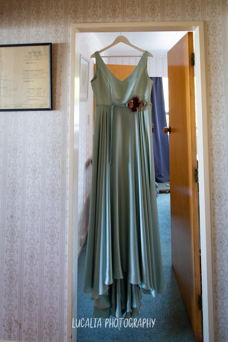 Sophie Voon Bridal blue wedding dress, Castlepoint Wairarapa wedding, Lucalia Photography