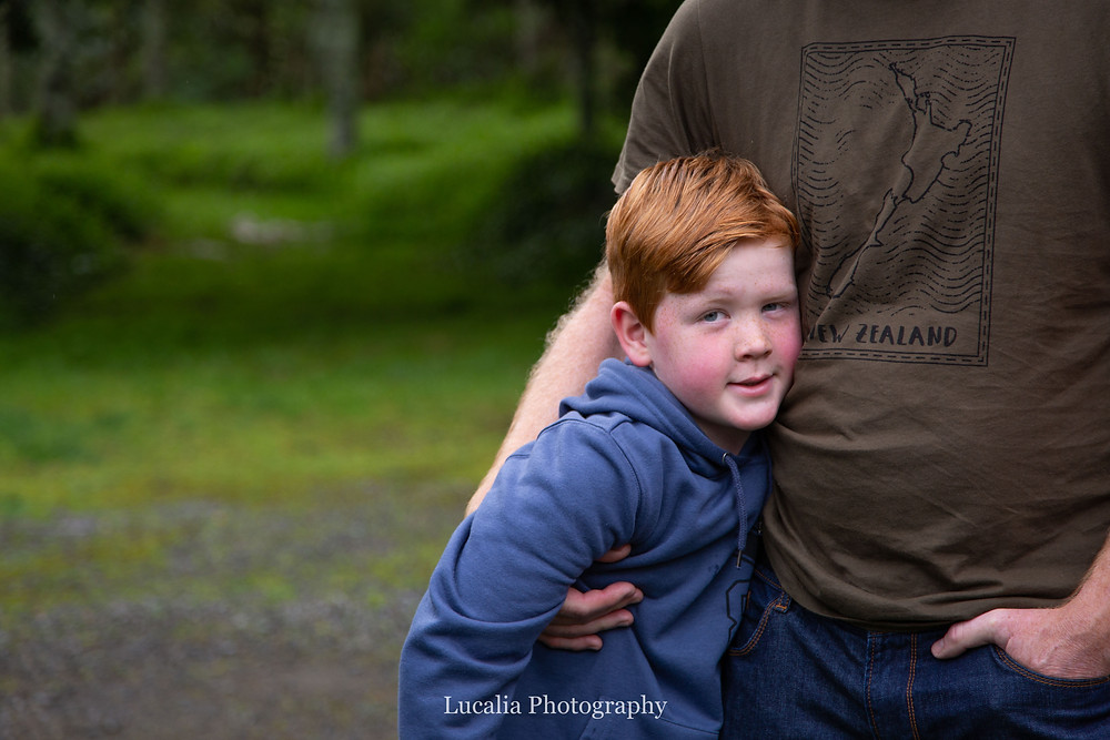 dad hugs, Wairarapa family photographer