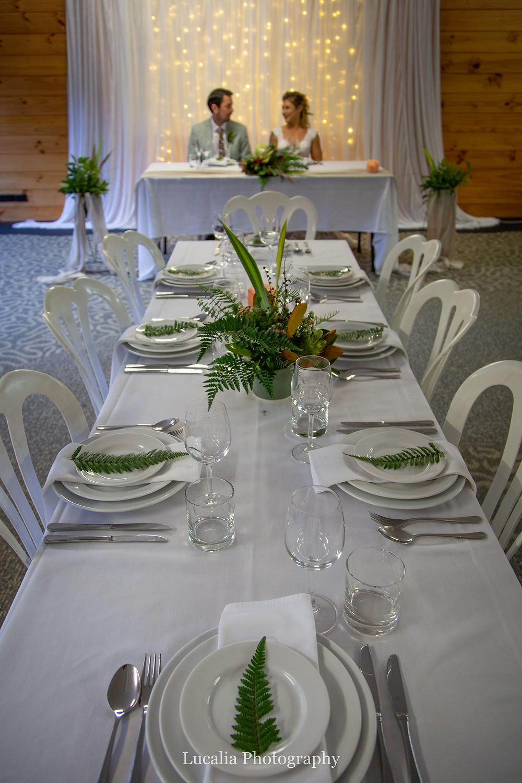 inside wedding reception venue Pukaha National Wildlife Centre, Wairarapa wedding venue