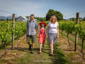 Wairarapa family photography: Le Grá vineyard and winery