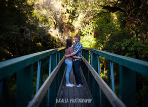 Mt Holdsworth Engagement Portraits, Wairarapa Wedding Photographer