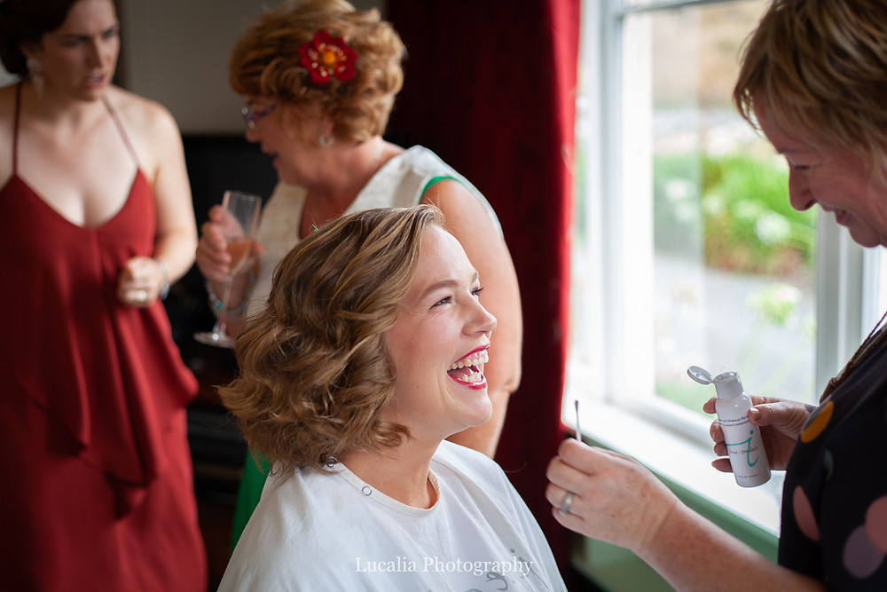 smiling bride, Wairarapa wedding photographers