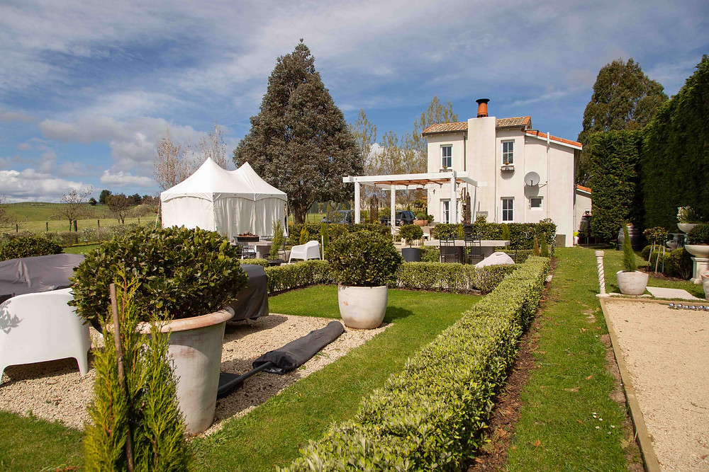 Italian villa marquee wedding, Olivio~nor, Martinborough, Wairarapa wedding venue
