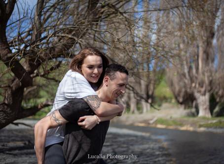 Wairarapa wedding photographer: Sian and Kris' White Rock engagement part 2