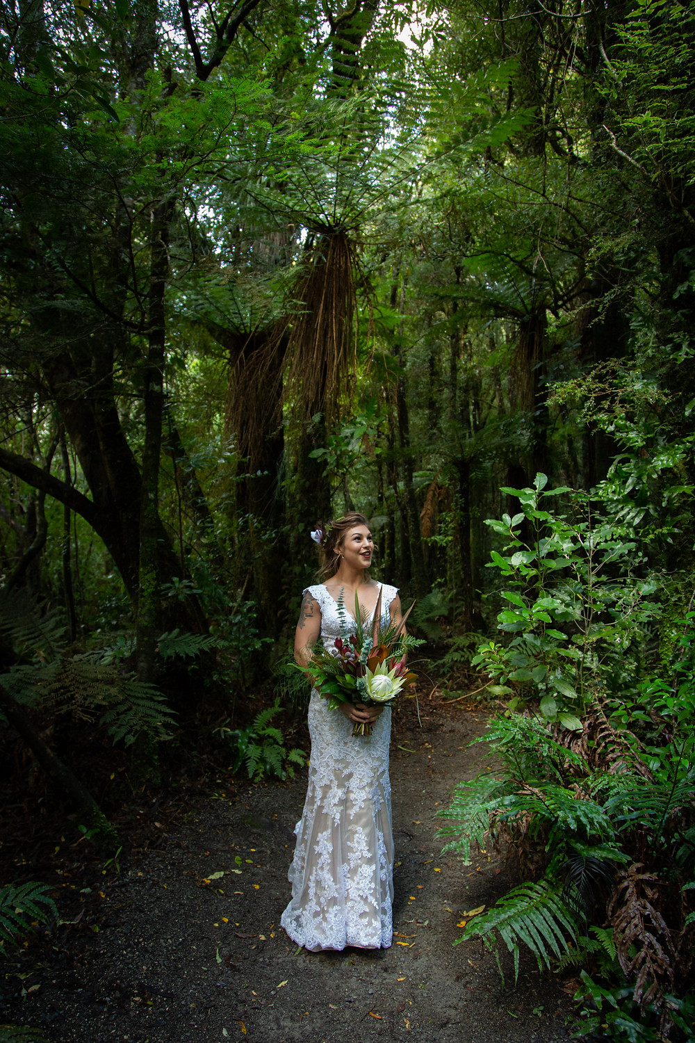 wedding dress from Hello Romeo, Wellington boutique