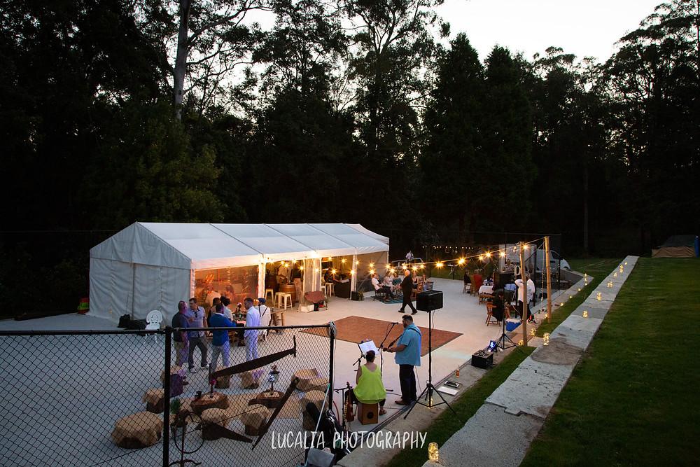 Wairarapa marquee wedding