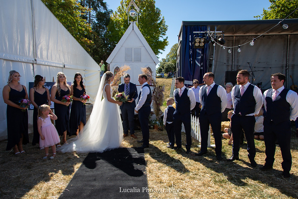 Marton Harvest Festival wedding 2019