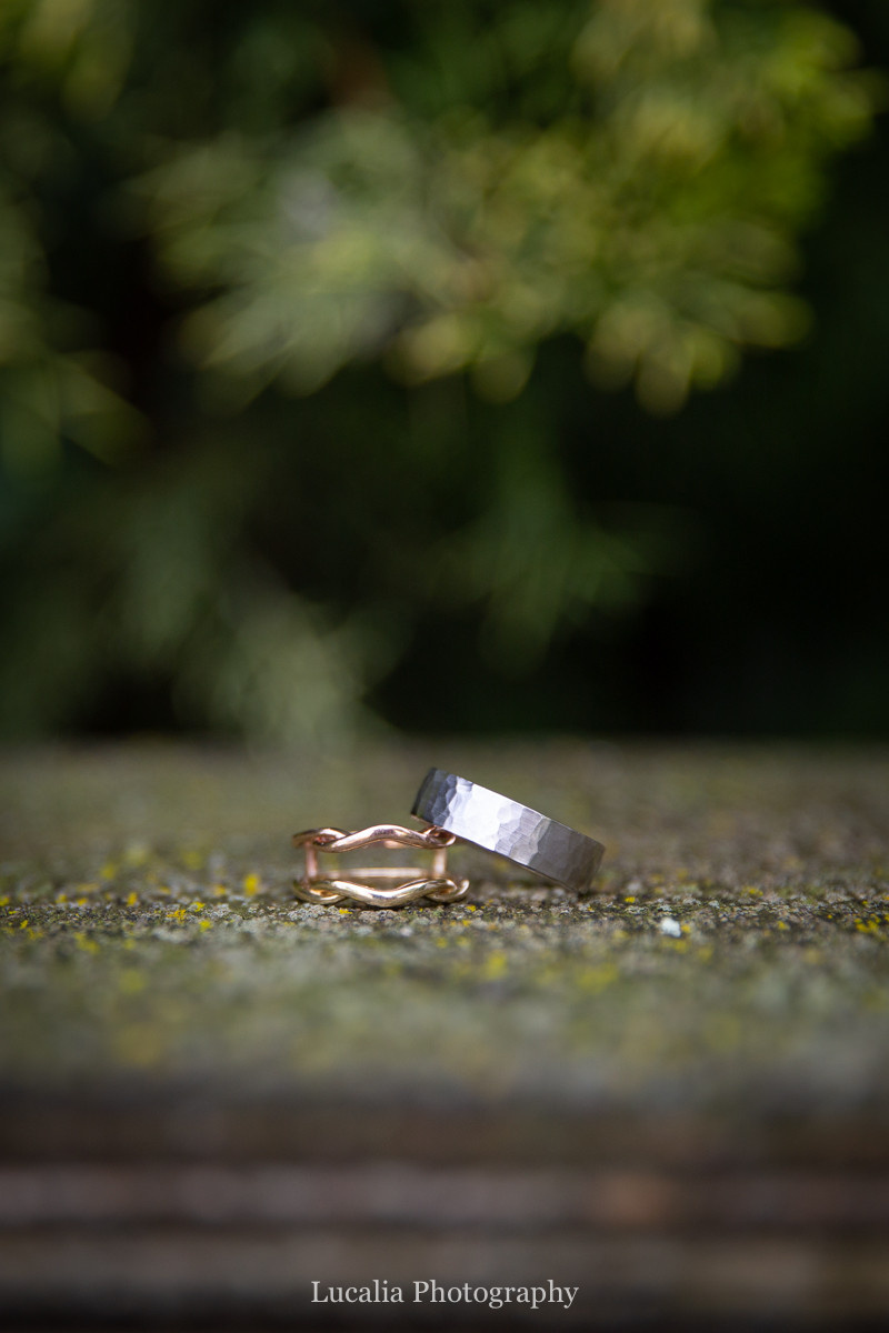 wrap wedding rings by Kay Jewellers, Wairarapa wedding photographers