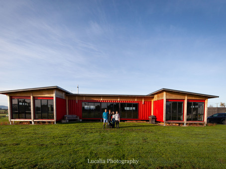 Eco-friendly family container home: Clareville, Wairarapa