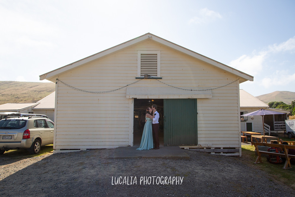 the woolshed wedding reception venue, Castlepoint Wairarapa wedding, Lucalia Photography