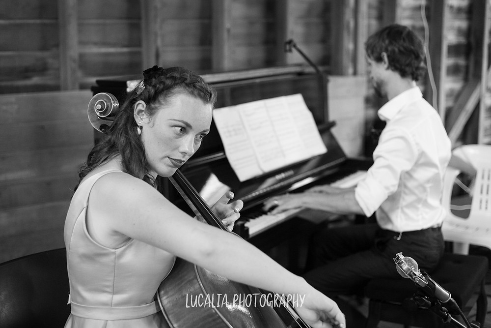first performance cello and piano, Castlepoint Wairarapa wedding, Lucalia Photography