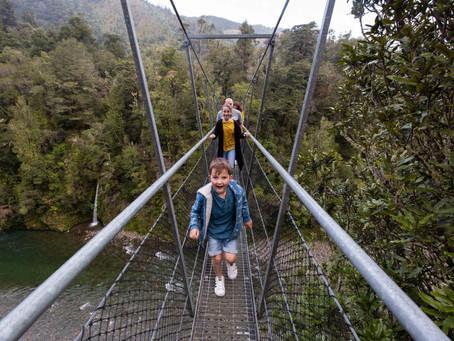 Wairarapa family photographer: Waiohine Gorge