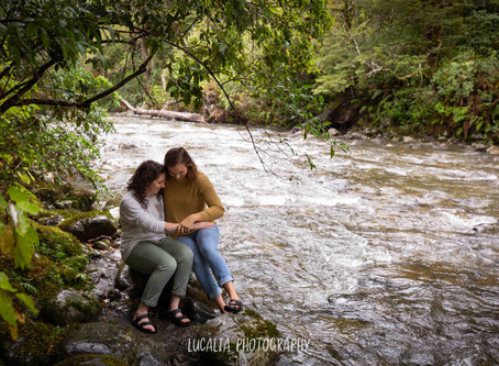 Mt Holdsworth Wairarapa Engagement Photos: Eliza and Catlin